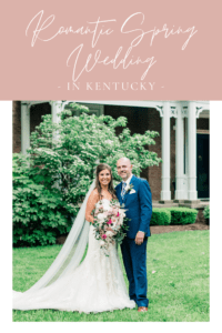 Romantic Spring Wedding in Kentucky