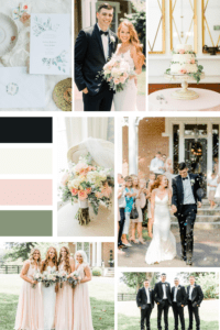 Mood Board for Classic Elegant Wedding