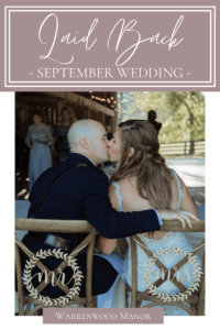 Laid Back September Wedding at Warrenwood Manor in Danville, Kentucky