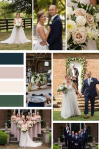 Mood Board for Romantic Summer Wedding at Warrenwood Manor