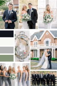 Timeless Elegant Inspiration Board from Warrenwood Manor