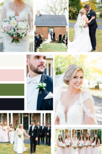 Traditional Glam Fall Wedding Mood Board - Warrenwood Manor - Kentucky Wedding Venue