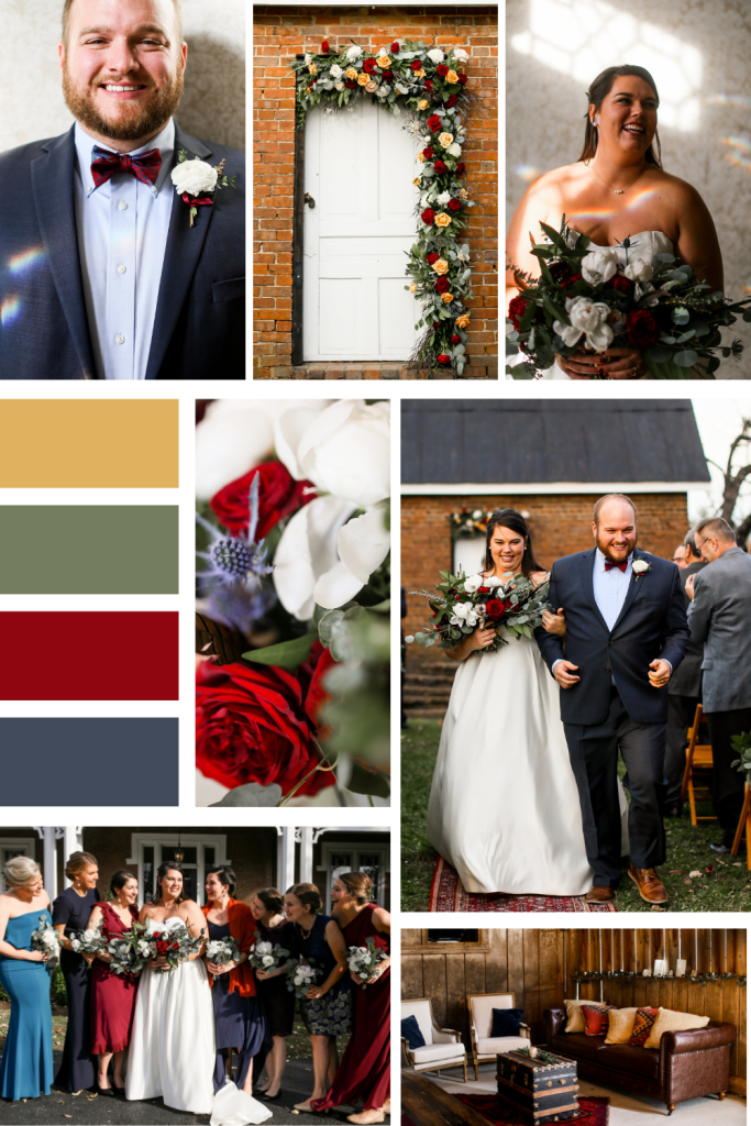Eclectic Fall Wedding