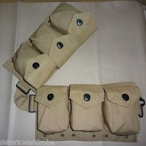 US WWII M1937 BAR Magazine Belt - Browning Automatic Rifle - Reproduction