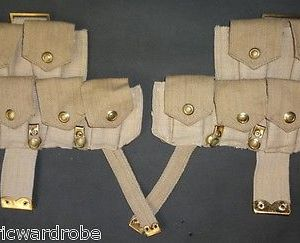 WWI P08 Ammo Pouch Set - Reproduction
