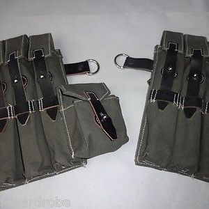 WWII German MP38/MP40 Magazine Pouch Set