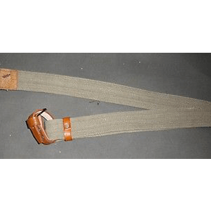 WWII Mosin-Nagant Russian Rifle Sling w/Pure Leather Dog Collars x 10 UNITS