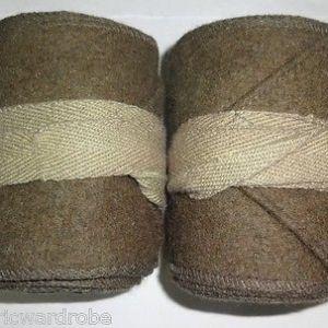 WW1 US Army Khaki Putties / M1910 Leggings Wraps - Reproduction