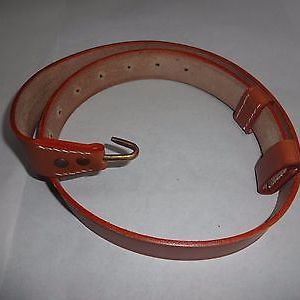 Springfield Leather Rifle Sling/Colonial British Sling - Mid Brown Reproduction
