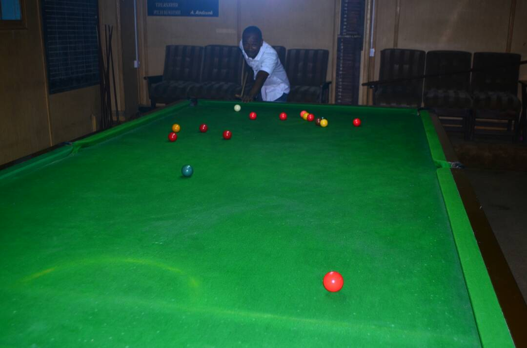 Billiards and SnookerTables at the Warri Club