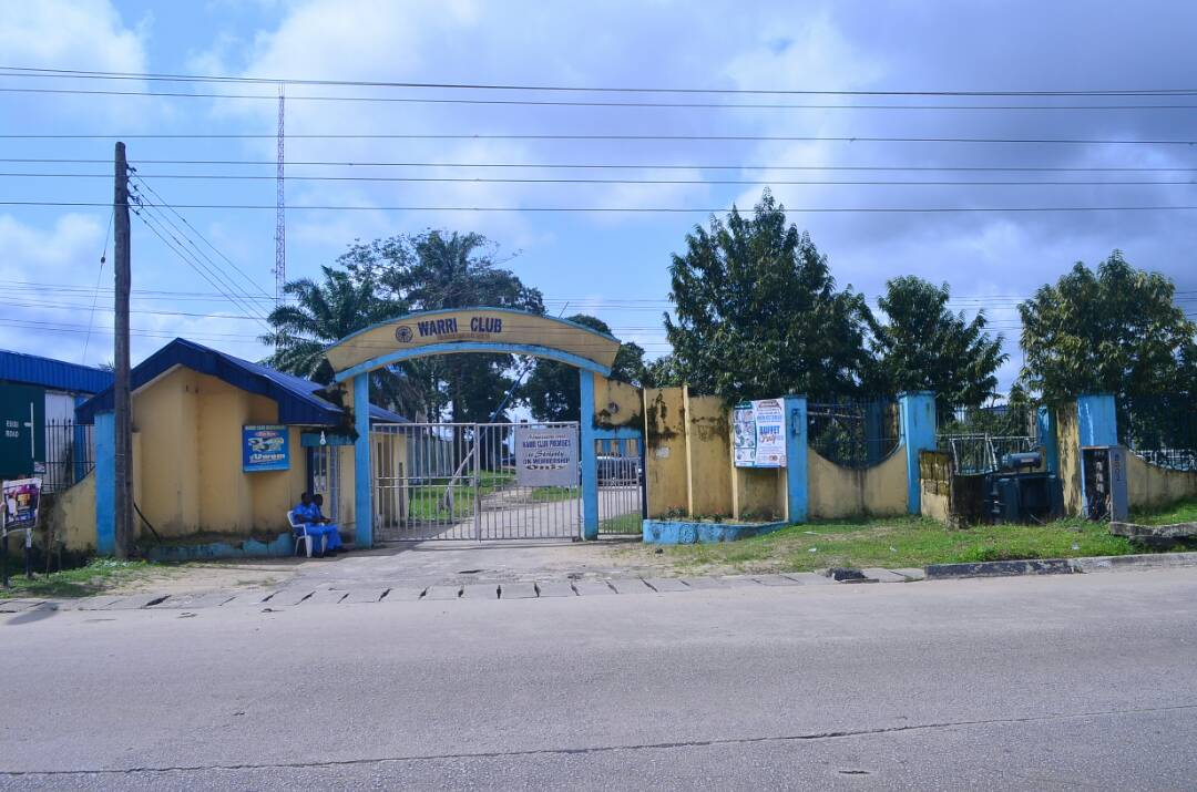 Entrance to the Warri Club