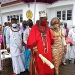 Similarities between coronation of the Olu of Warri and that of a Pope
