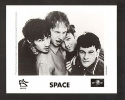 The first lineup of Space, circa 1996