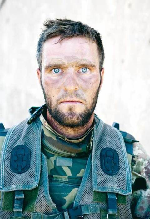 War on Terror, The Thousand Yard Stare. After a 72 hour long firefight.