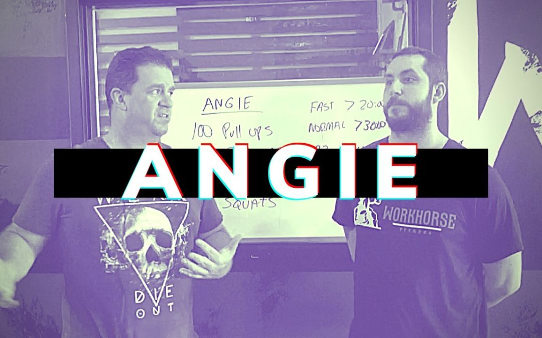 "Benchmark WOD Review ""ANGIE"""