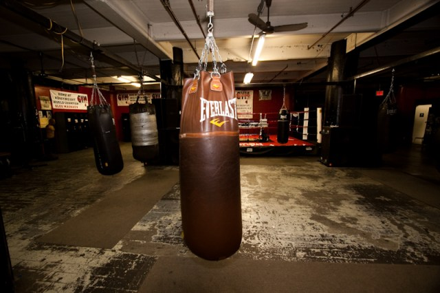 Gleason\'s Boxing Gym, Brooklyn