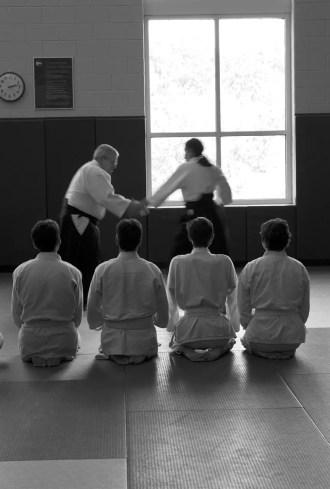 Martial arts training develops focus