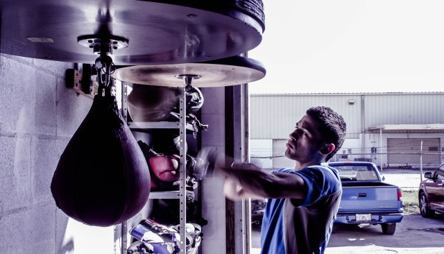 The speed bag offers sports specific training for fighters.