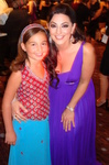 "Emily Bear, who just released ""Always True"" album poses with Janeen Mansour at Noble Awards."