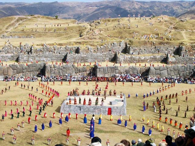 Inca People Peru