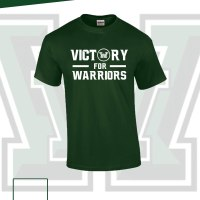 T-Shirt Victory for Warriors Green – Large