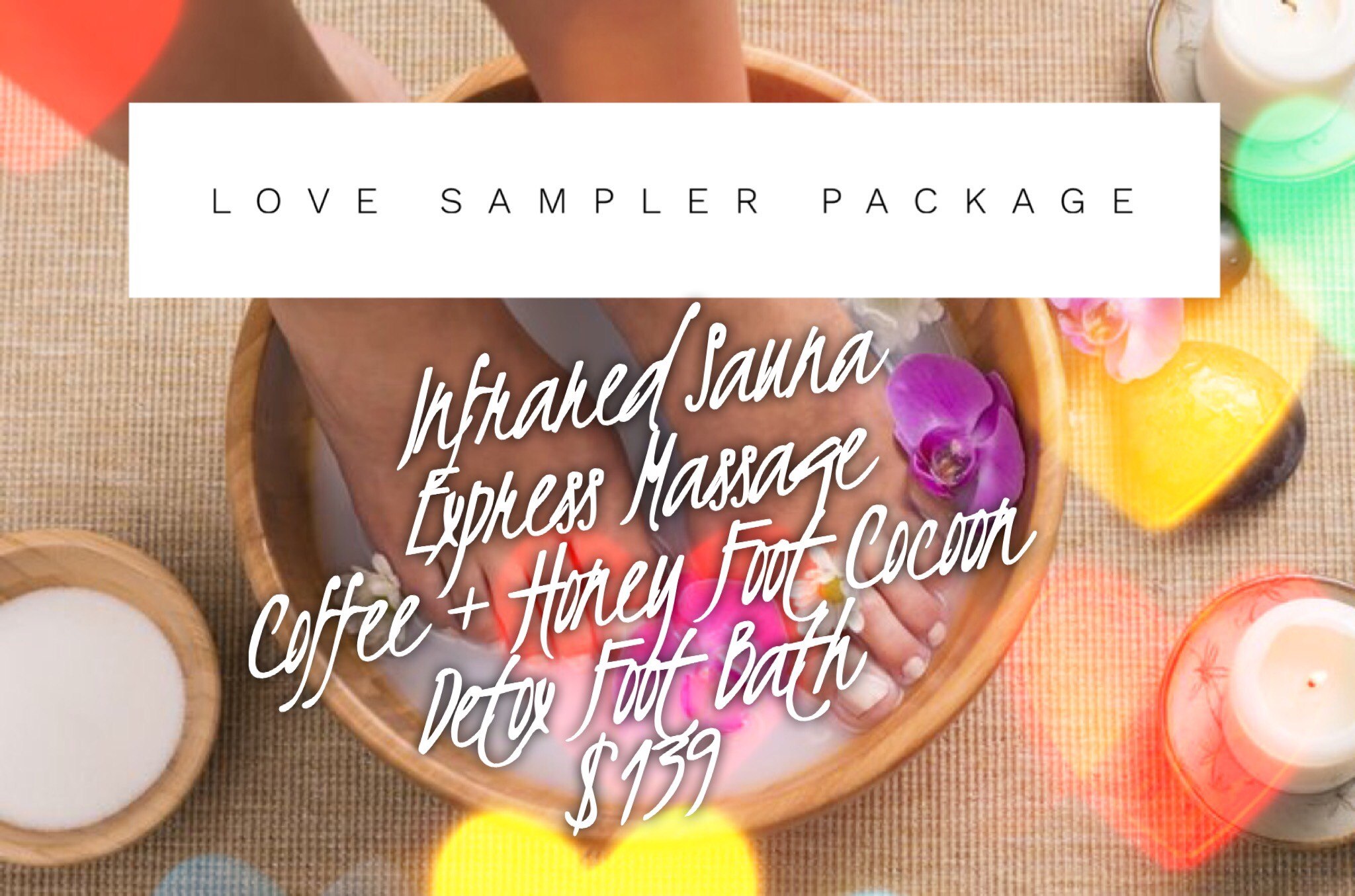Valentines spa package