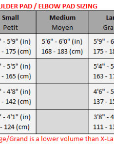 also hockey shoulder pad elbow size chart  warrior rh warriorsupport zendesk