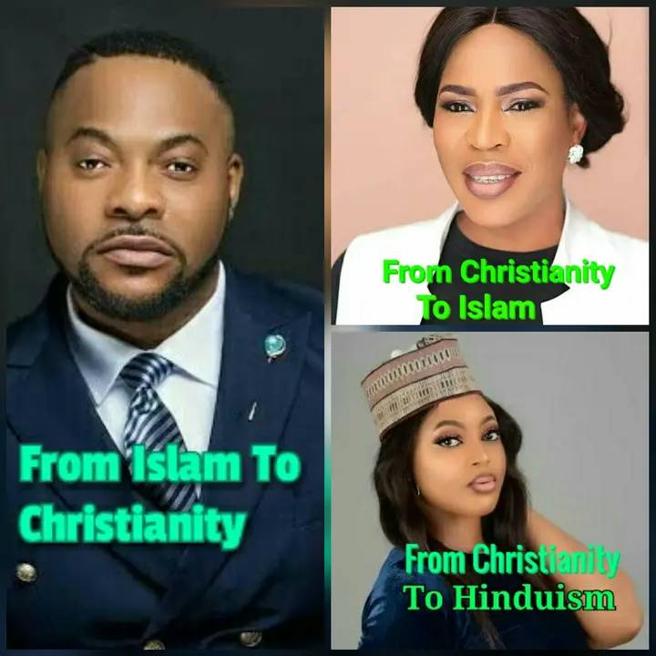 8 Nigerian Celebrities Who Converted From One Religion To Another