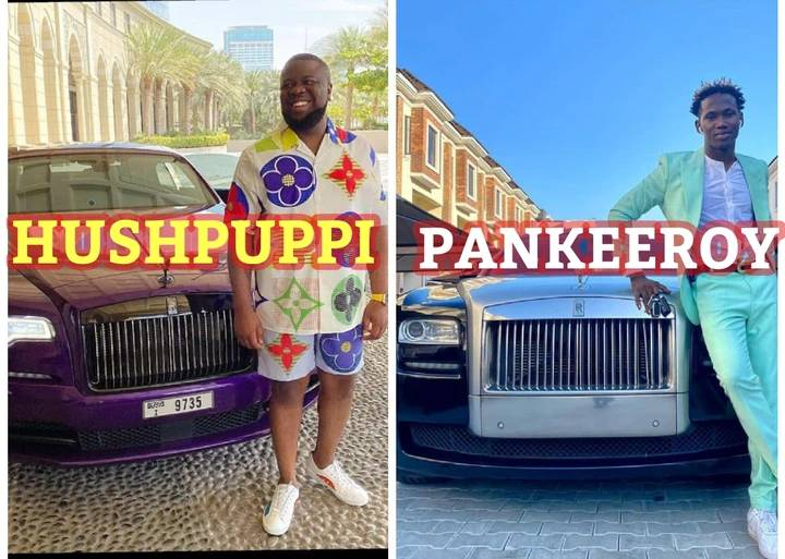 Photos Of 3 Similar Things Between Hushpuppi And The Recently Arrested Comedian.