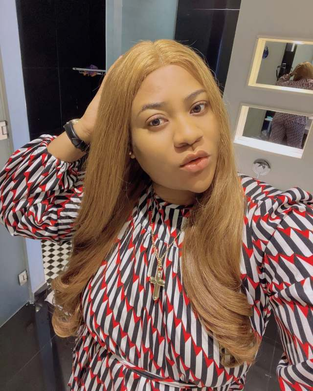 """Anyone supporting him will taste the same fate"" – Nkechi Blessing reacts to Baba Ijesha's scandal"