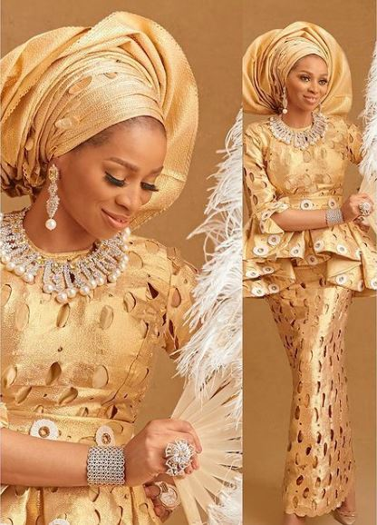 Billionaire's wife, Shade Okoya celebrates her birthday with stunning photoshoots