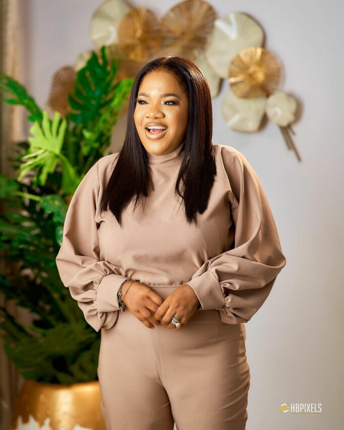 """Please stop the Desmond Elliot jokes, it's annoying"" — Actress, Toyin Abraham begs Nigerians"