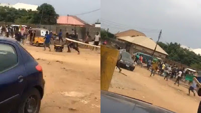 Northerners loot shops in Abuja, Police confirm theft (Video)