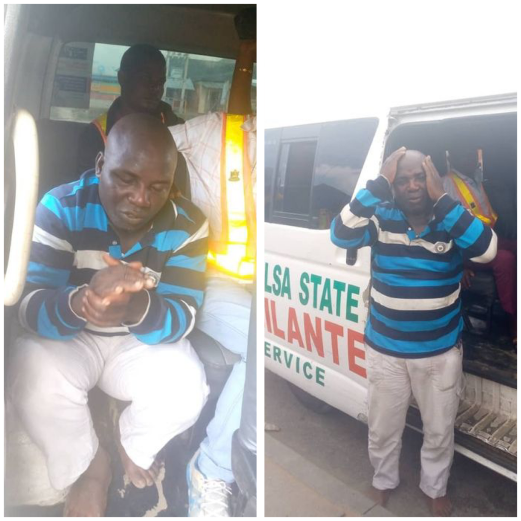 'Fake' sanitation officer arrested for allegedly attempting to extort Bayelsa Governor's aide