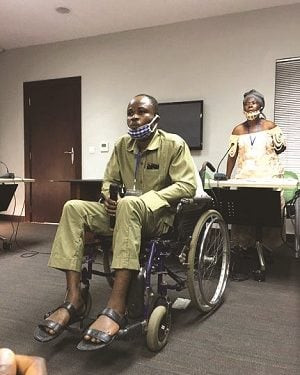 Trader who suffered spinal cord injury after police brutality grumbles over N7.5m compensation by Lagos judicial panel; says he has spent N30m on treatment