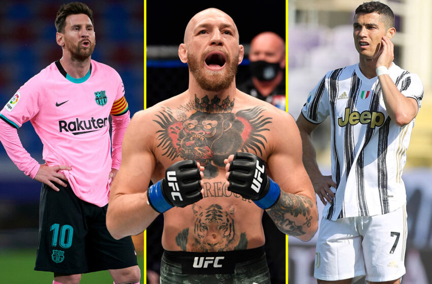 UFC star, Conor McGregor beats Lionel Messi and Cristiano Ronaldo to be named world's richest athlete