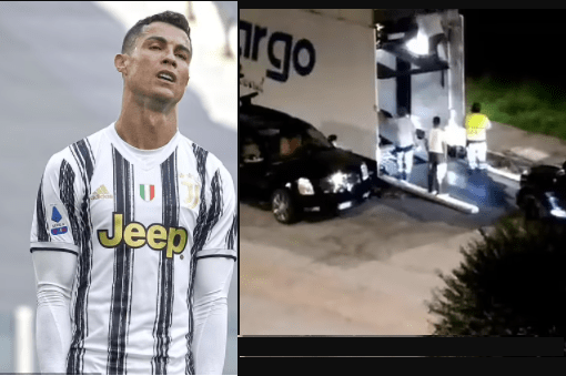 Cristiano Ronaldo fuels Juventus exit speculation as footage emerges of his seven supercars being removed from his mansion in Italy