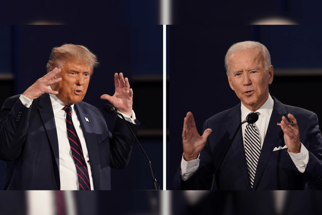 Donald Trump says 'there is no way Joe Biden won the election' after new poll claims 67% of his voters do not consider the president to be the legitimate winner