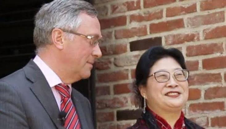 Wife of Belgium's ambassador to South Korea claims diplomatic immunity after slapping a store assistant for accusing her of stealing jacket