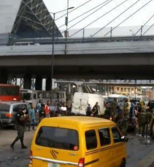 """""""You want to ban okada and keke napep but you cannot ban agbero"""" Uche Maduagwu blames Lagos State Governor for the chaos in Oshodi (video)"""
