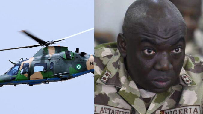 Nigerian Army confirms death of its Chief of Army Staff and 10 other officers in military plane crash