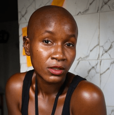 Popular Nigerian lesbian, Amara, denied an apartment after landlady went through her social media handles and discovered she is a lesbian