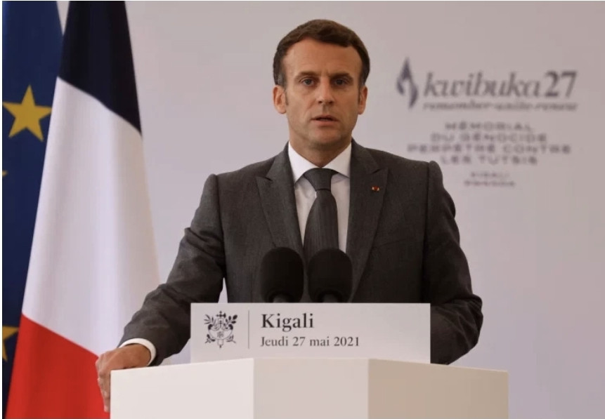 French president Emmanuel Macron seeks forgiveness for France's role in Rwanda genocide, but refuses to apologize