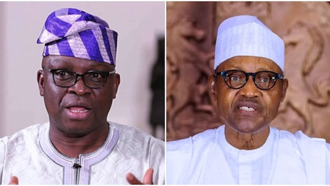Buhari is the national mishap and the Jonah in our boat - Former Ekiti state governor, Ayo Fayose
