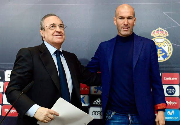 Zinedine Zidane pens open letter to Real Madrid fans explaining why he left the club
