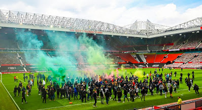 EPL: Man United, Liverpool clash postponed after fans invaded pitch