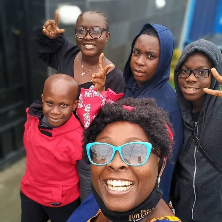 OAP Lolo give her thanks to God as she and her kids survived a car accident