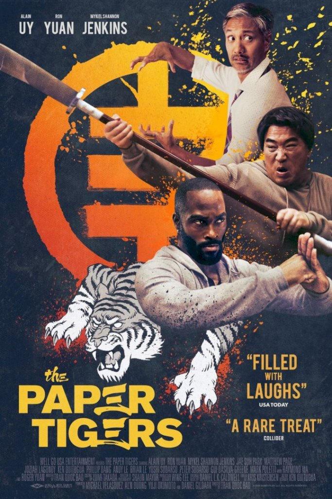 MOVIE: The Paper Tigers (2021)