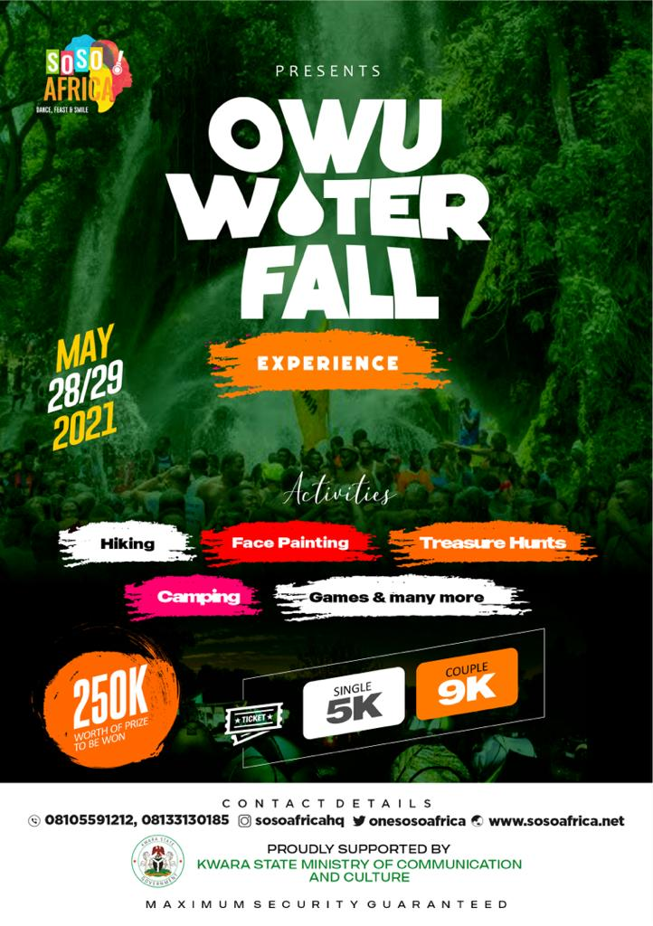 Soso Africa Presents Owu Water Fall Experience