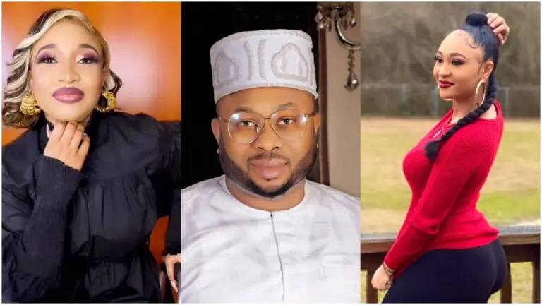 Tonto Dikeh's ex-husband Olakunle Churchill sends a message to an unidentified lady crushing on him